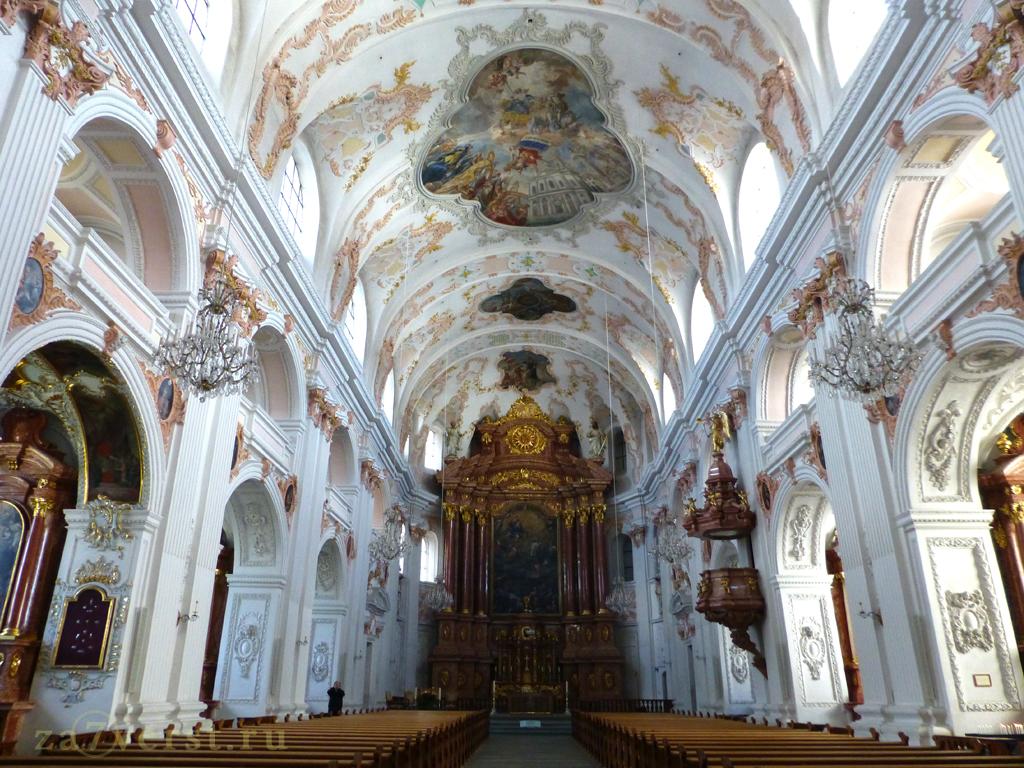 Иезуитская церковь (Jesuitenkirche), Люцерн, Швейцария