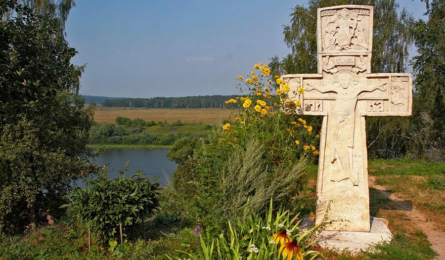 Поздравляю с праздником крестовоздвижения. Каменный крест открытки фото рисунки картинки поздравления