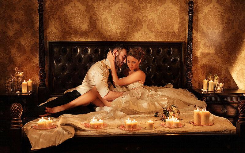 Устроить страстную ночь любви видео
