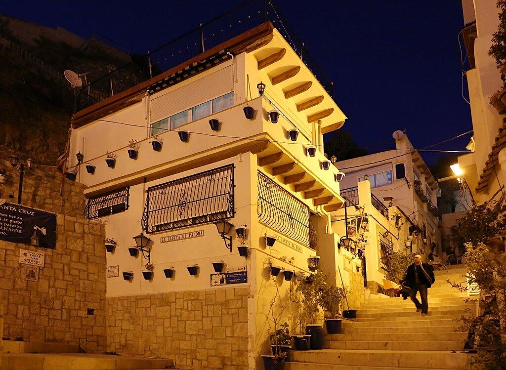 Вечерний Аликанте. Арабский квартал