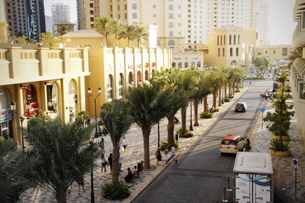 The Walk в Jumeirah Beach Residence