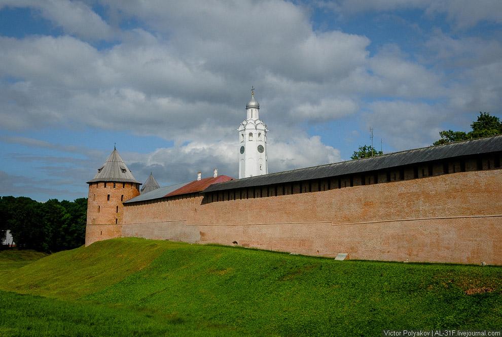 46. На этом экскурсия по Великому Новгороду закончена.