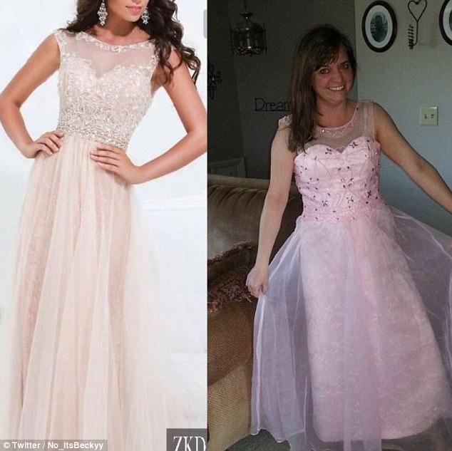 В реальности платья сделаны из более дешевых материалов, плохо сидят и на них меньше декоративных эл