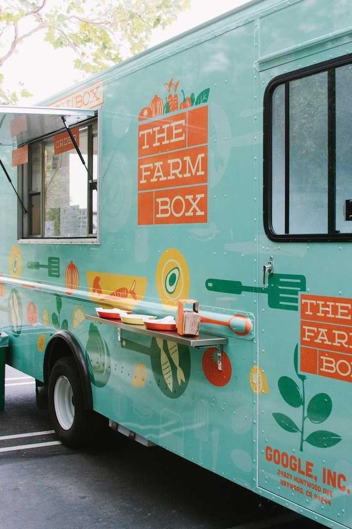 12. В The Farm Box работники Google могут попробовать свежие блюда прямо с фермы.