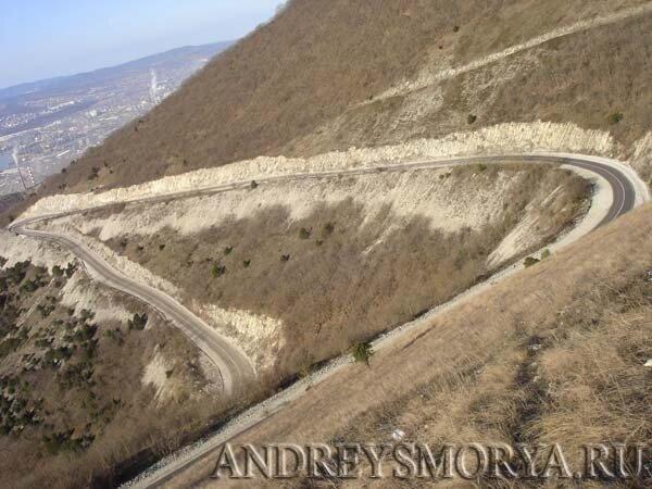 Дорога на Ахонку