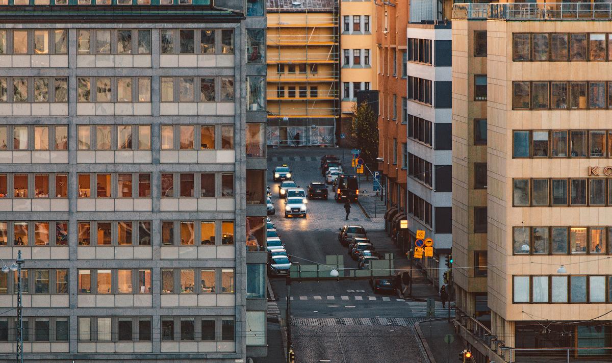 Хельсинки на пароме