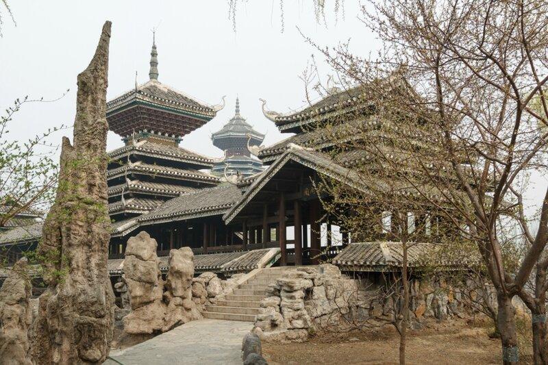 Мост в парке народности дун, Парк национальностей, Пекин