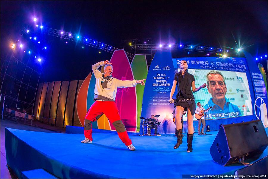 Русские на китайской регате