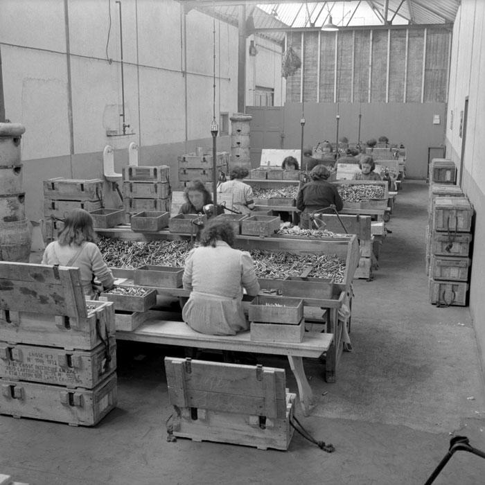 L'usine de munitions d'infanterie du Mans.