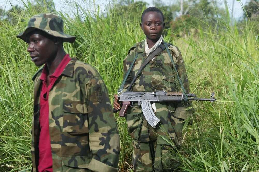 Дети солдаты - Конго (6)