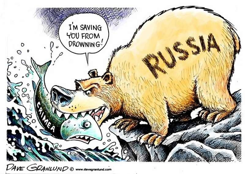Крым и Россия (Dave Granlund)