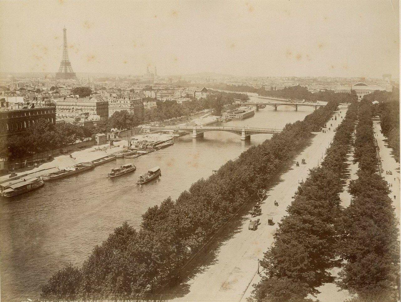 1889. Вид на Сену
