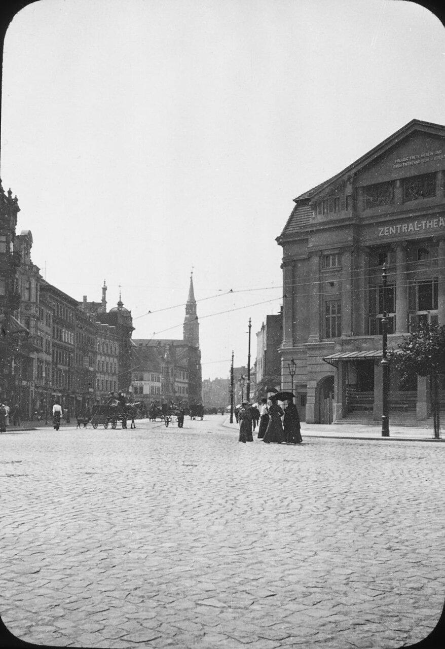 Магдебург. Центральный театр, 1907