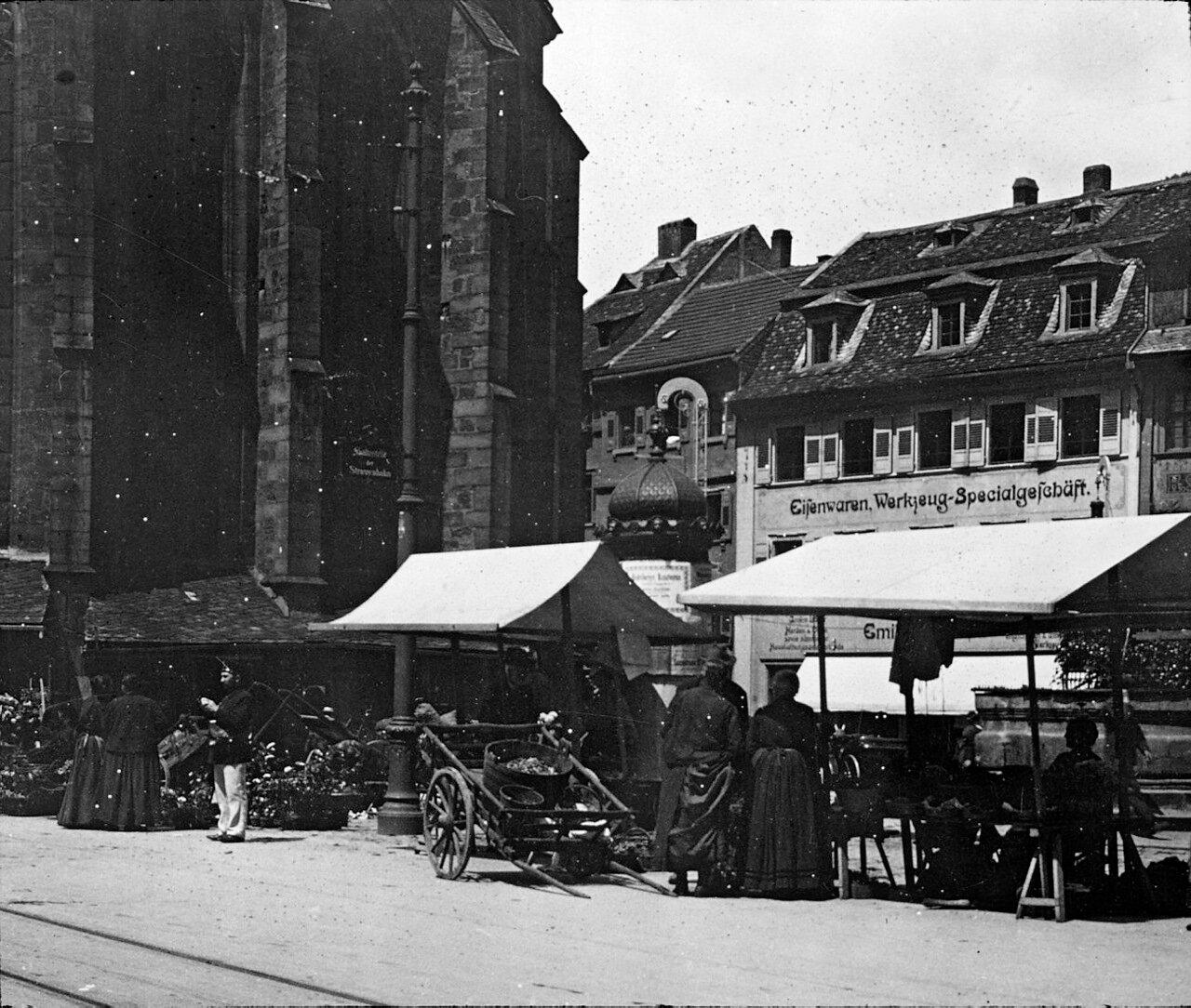 Гейдельберг. Церковь, 1906