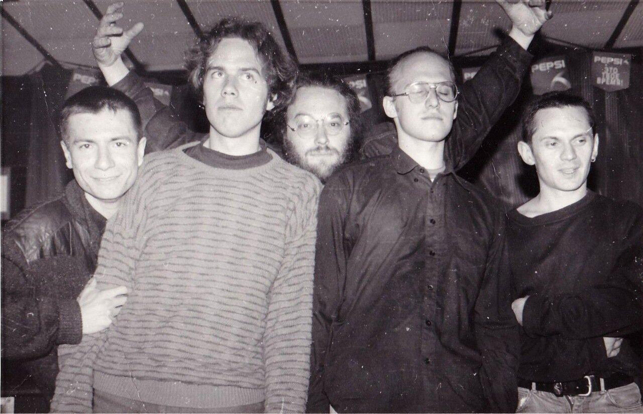 1996. С группой «Др.Макс» и примкнувшим занудой журналюгой