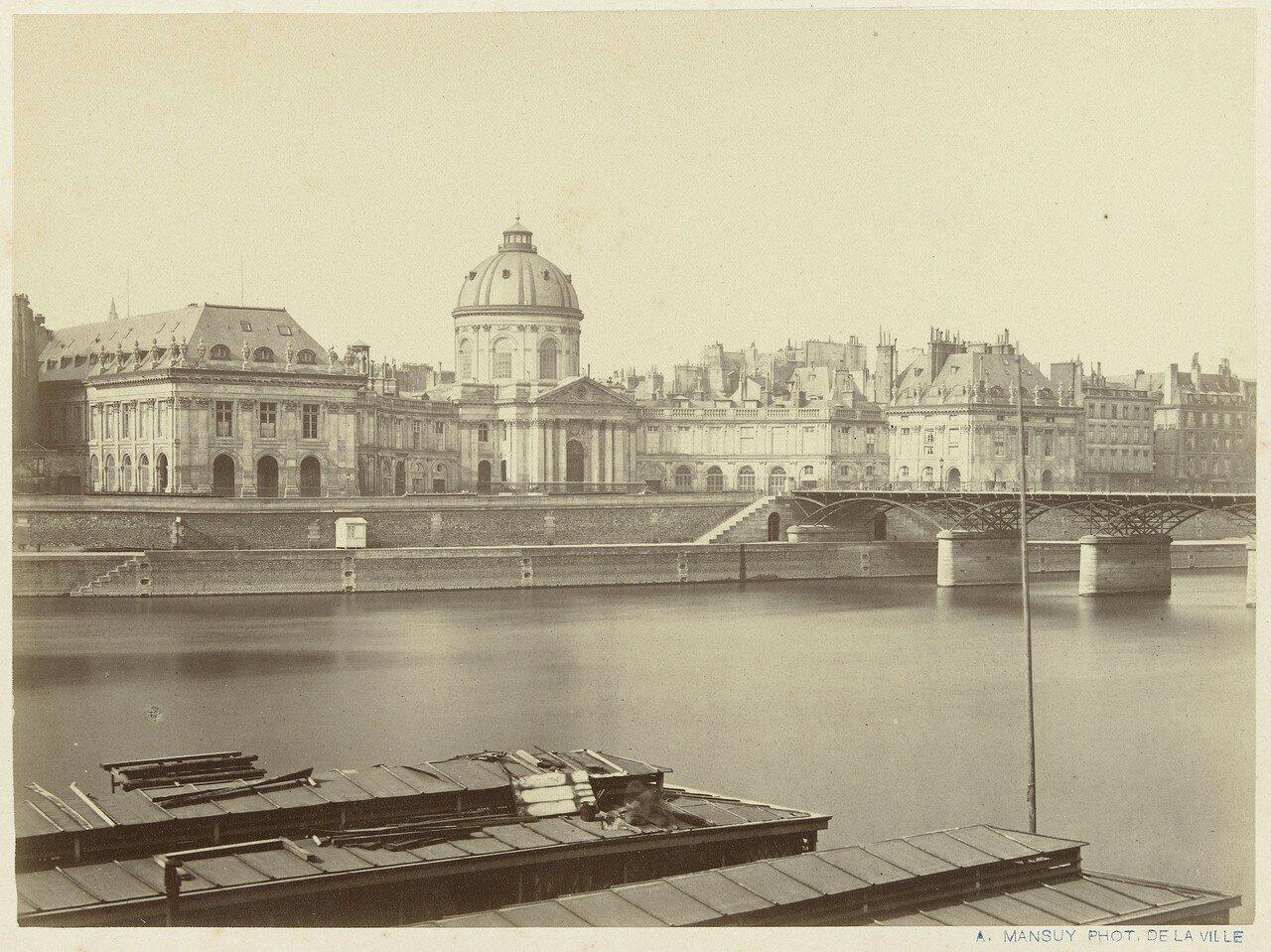 1860-е. Вид на Дворец и Сену