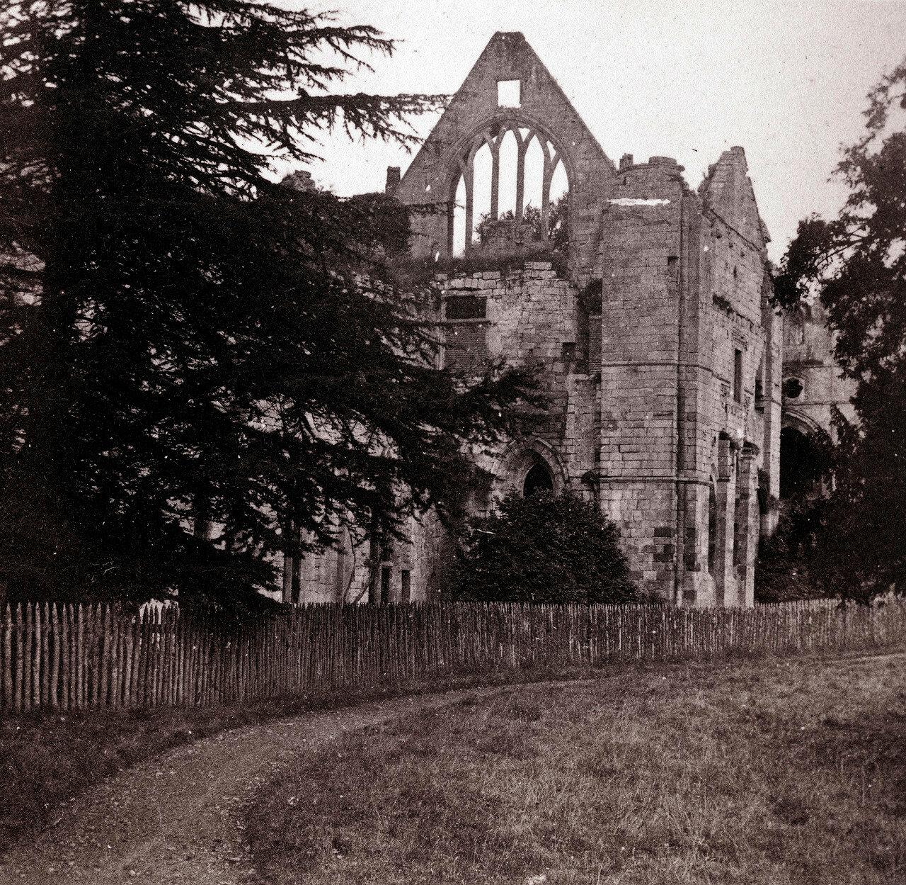 Аббатство Драйбург. Великобритания, 1864
