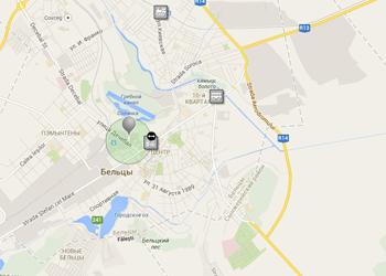 В Бельцах запущена система поиска маршрутов общественного транспорта