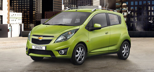 Chevrolet отзывает из страны Spark