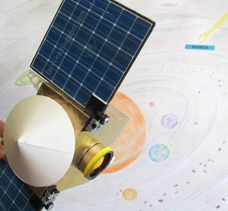 модель космического аппарата своими руками