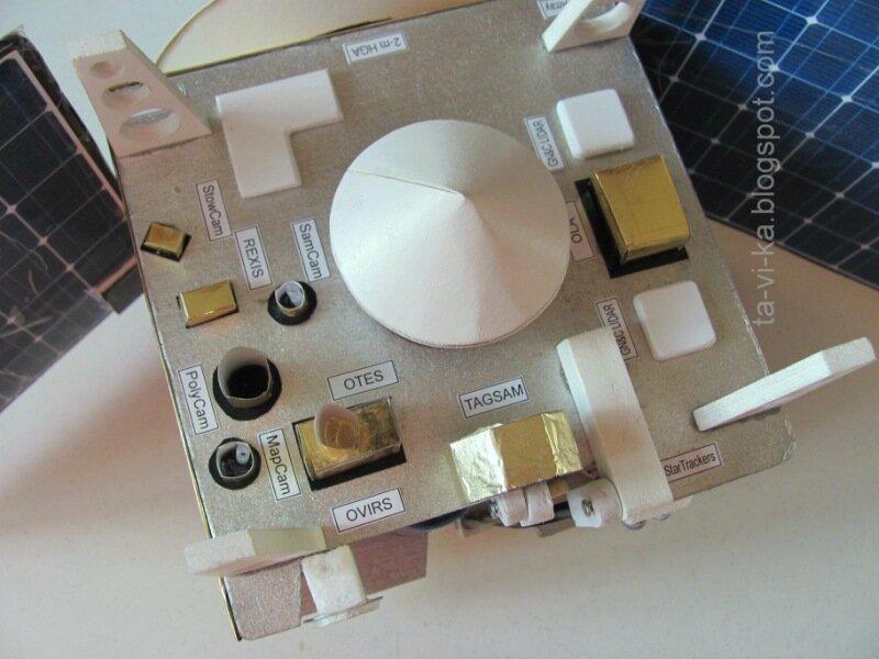 приборы на OSIRIS-REx