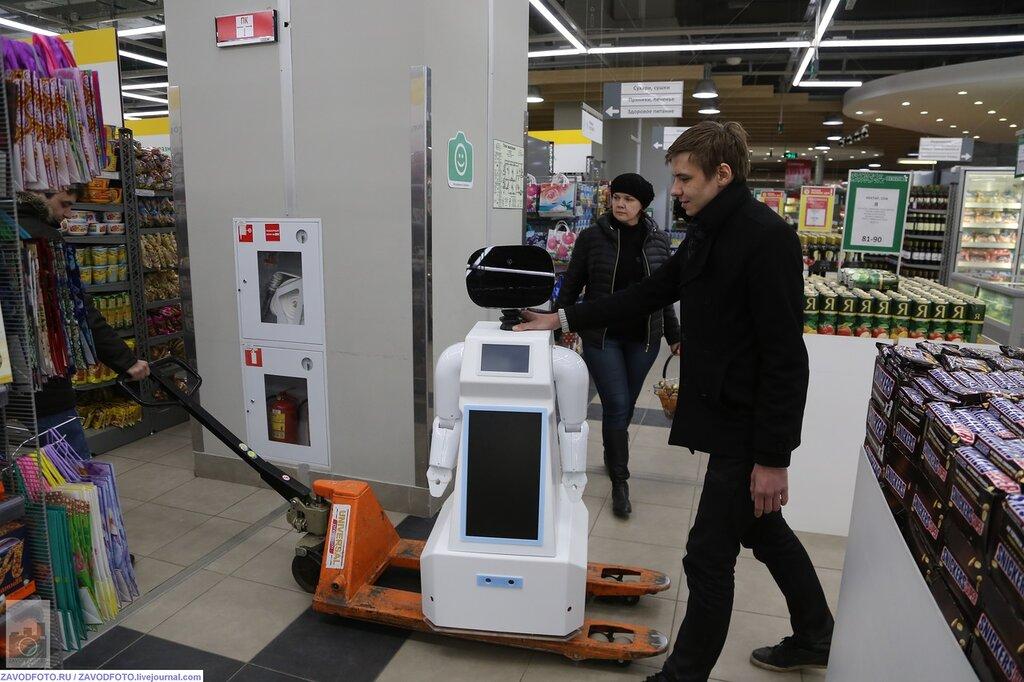 Как делают роботов в Перми!