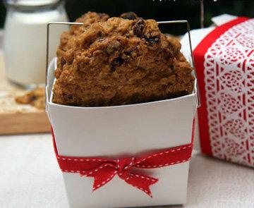 Овсяное печенье как подарок