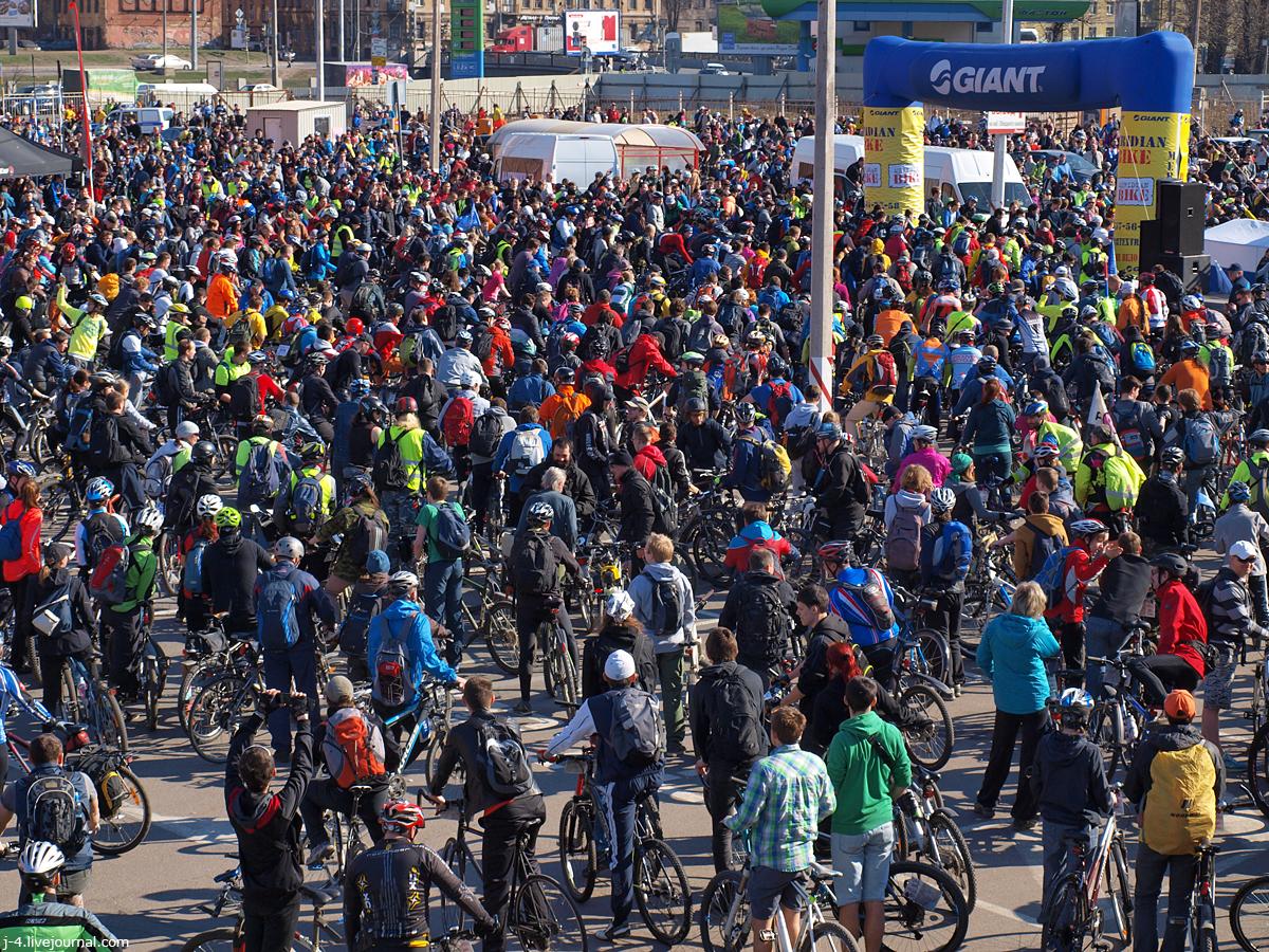 фото, фотографии, открытие сезона, 2014, Велопитер