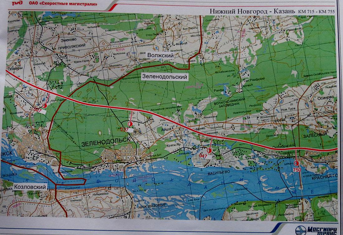 карта магистрали москва казань выбрать