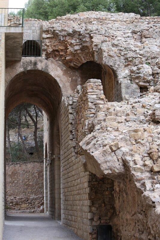 Сагунто. Римский театр. Sagunto. Theatro Romano.
