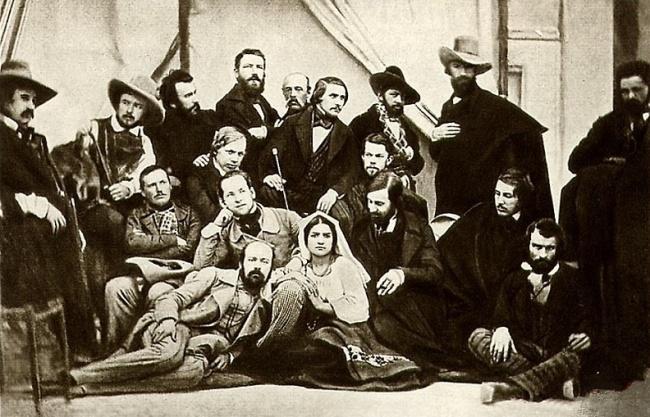 © wikimedia  Президент Линкольн наполе боя. Штат Мэриленд, США, октябрь 1862 года