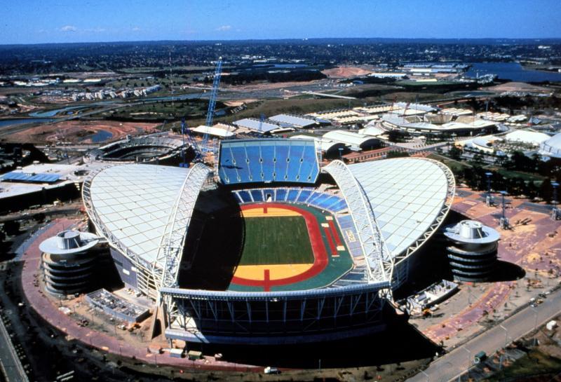 25. Вид на стадион Сидней Олимпик, который стал местом проведения соревнований с 15 сентября по 1 ок