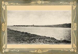 Вид на Хвалынск с Волги