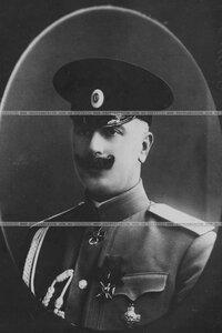 Адъютант бригады в кителе (портрет).
