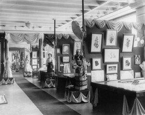 Залы выставки акционерного общества.