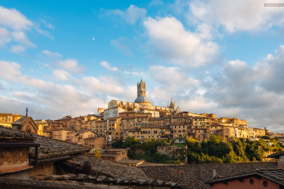Города Тосканы. Две столицы