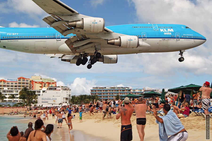 Отпуск на Карибах. Часть II. Махо-Бич или рай авиафотографа.