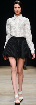 Модная юбка для осени