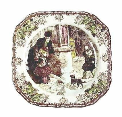Украшаем стену расписными тарелками