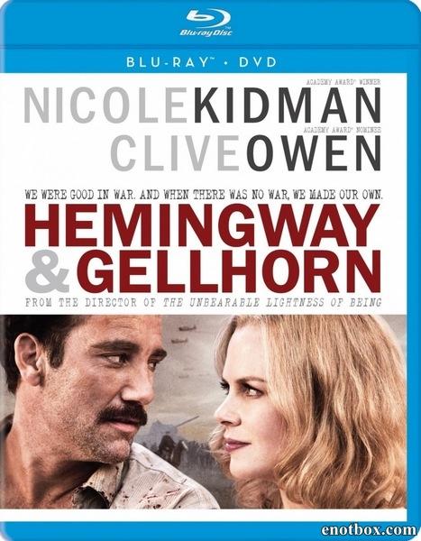 Хемингуэй и Геллхорн / Hemingway & Gellhorn (2012/BDRip/HDRip)