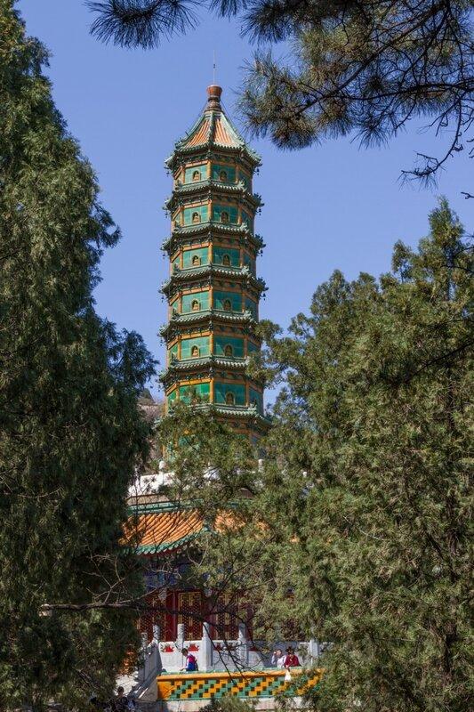 Пагода Люли, парк Сяншань, Пекин