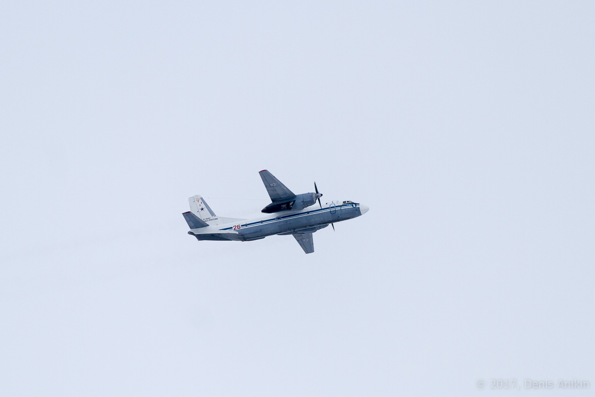 самолёт Ан-26 RF-36004 ВКС России