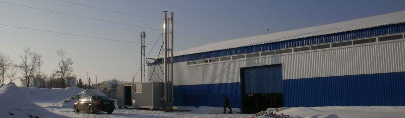 Монтаж и строительство модульной газовой котельной не требует дополнительно строительства фундамента.