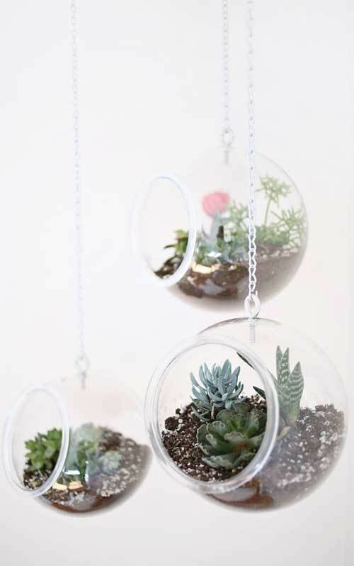 Висячий мини-сад своими руками