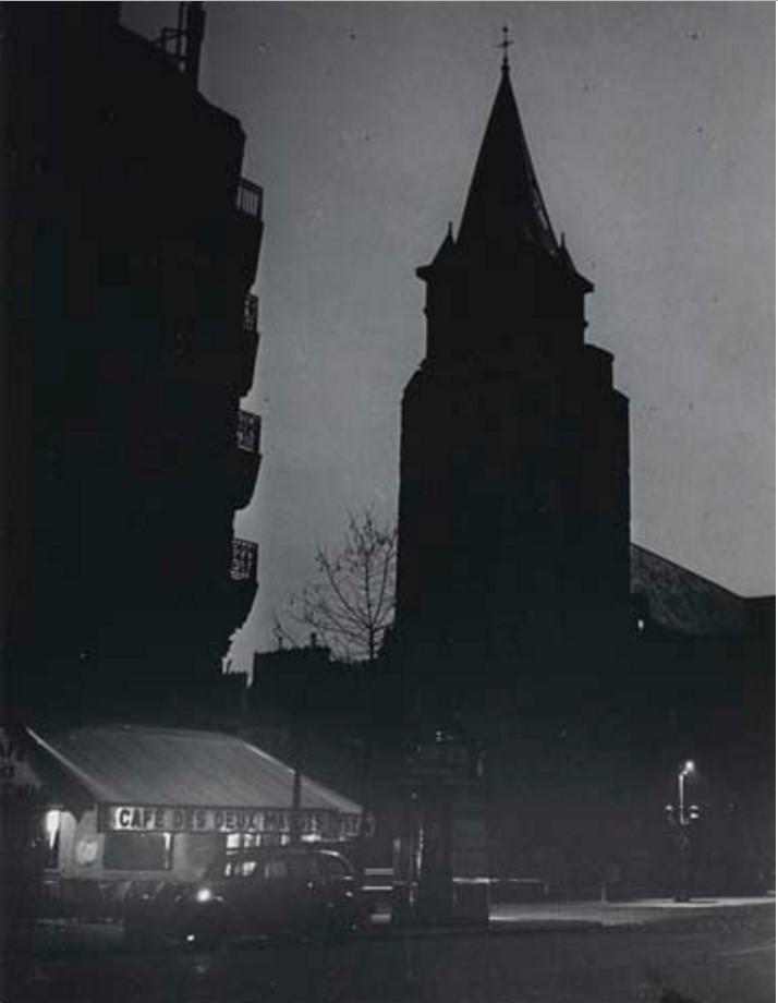1939. Церковь Сен-Жермен-де-Пре