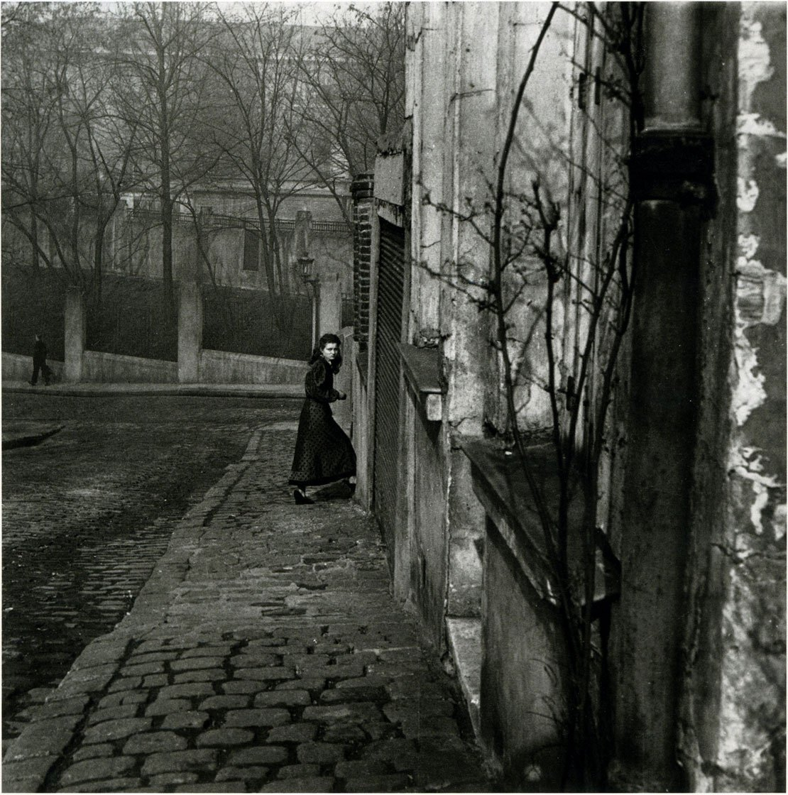1948. Квартал Менильмонтан. Рю де ла Клош