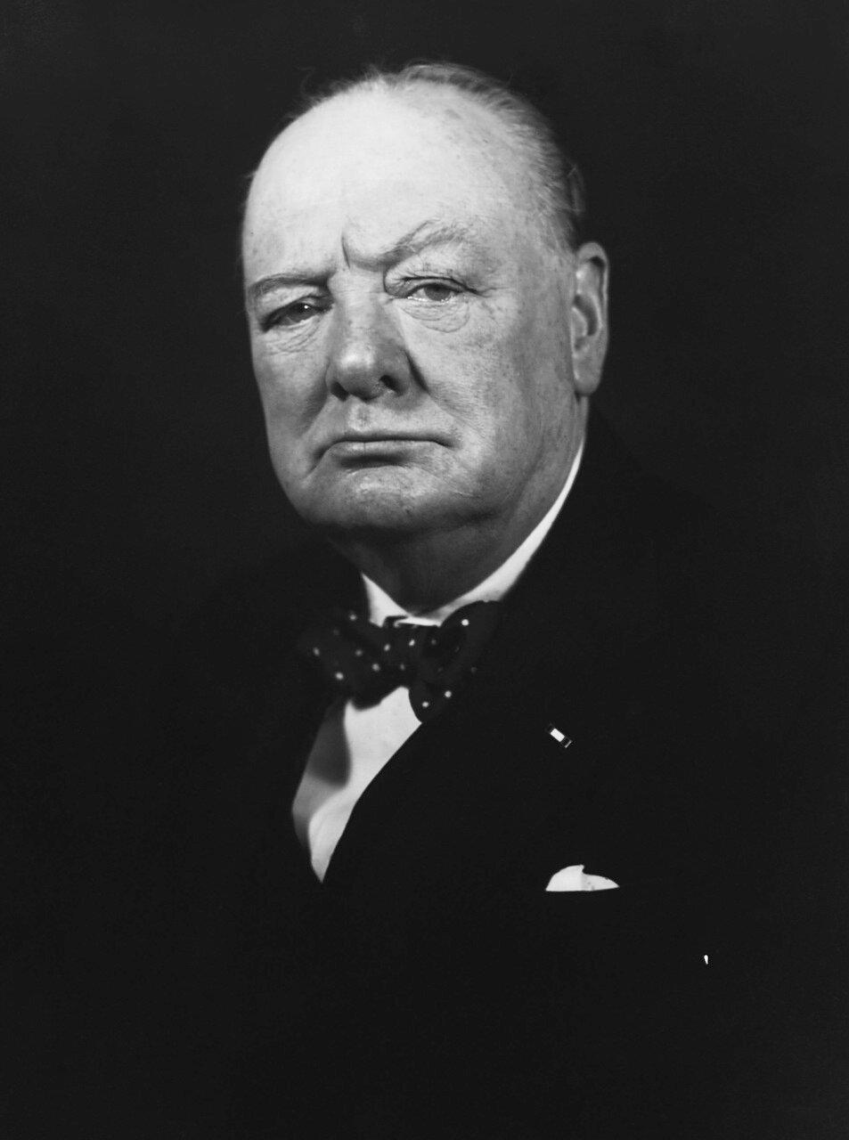 1940. Уинстон Черчилль