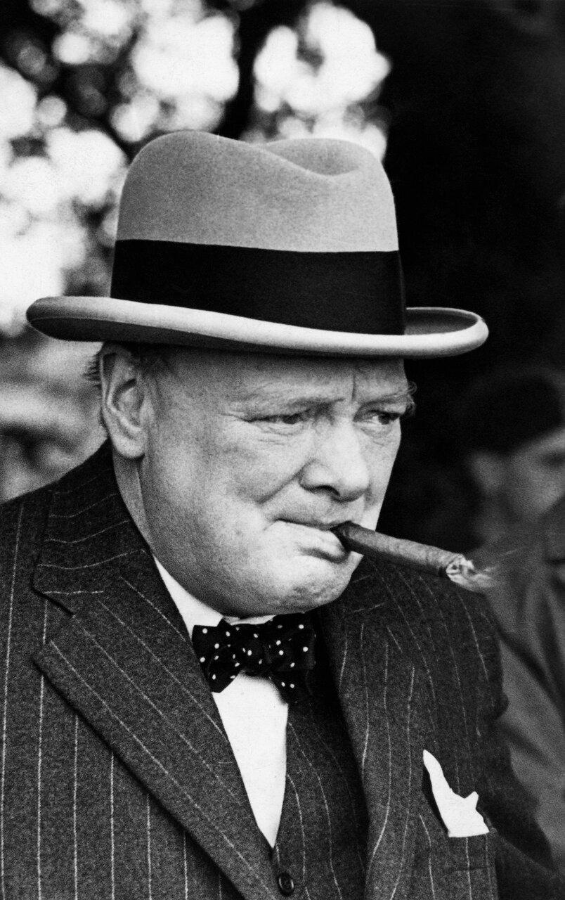 1939. Уинстон Черчилль,  первый лорд Адмиралтейства