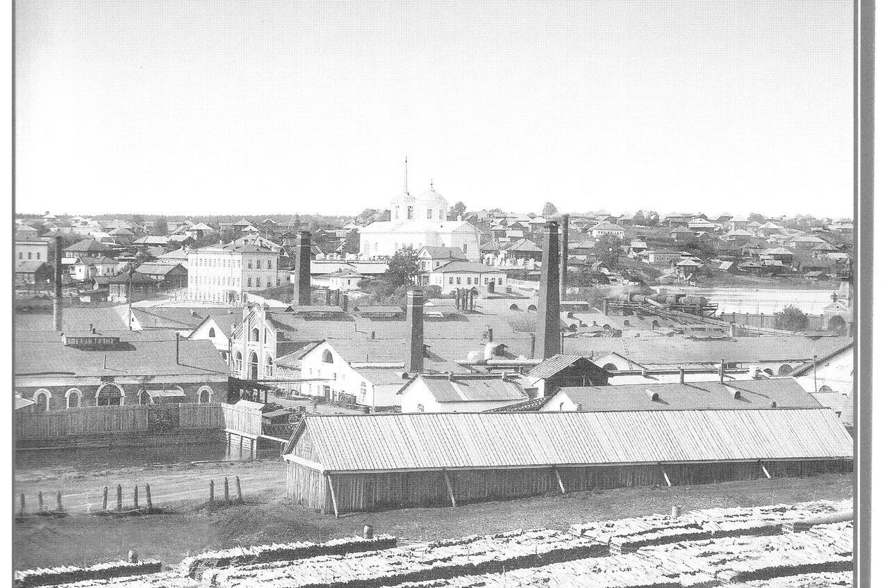 Вид завода с юго-восточной стороны.1892