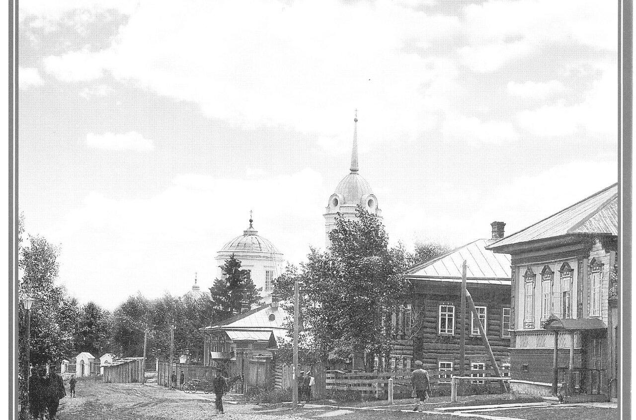 Улица Домовая и Рождество-Богородицкая церковь